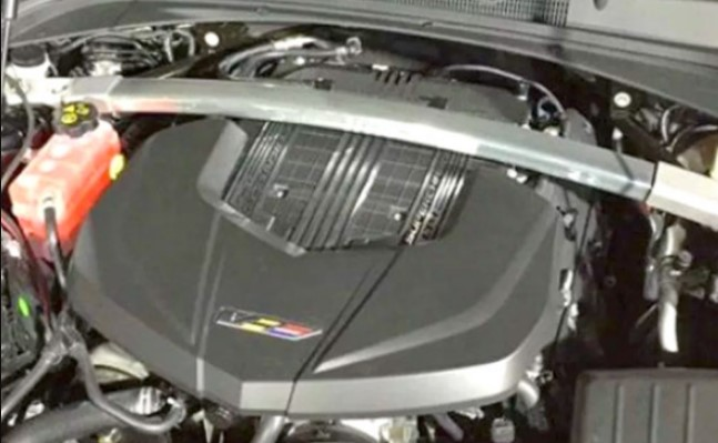 2021 Cadillac SRX Engine