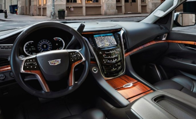 2021 Cadillac Escalade EXT Interior