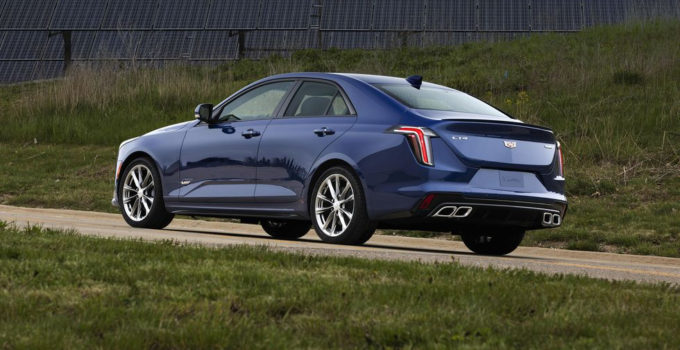 2020 Cadillac CT4 V Revealed With 320 Hp And Available All