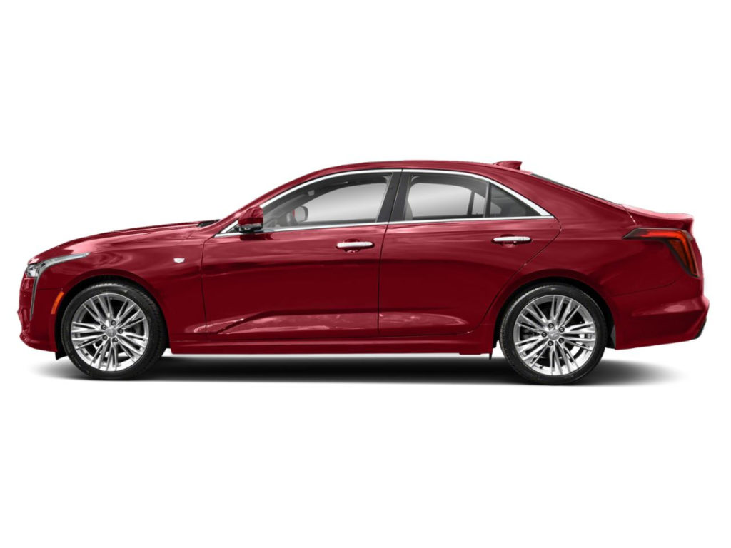 New 2020 Cadillac CT4 Red Obsession Tintcoat For Sale
