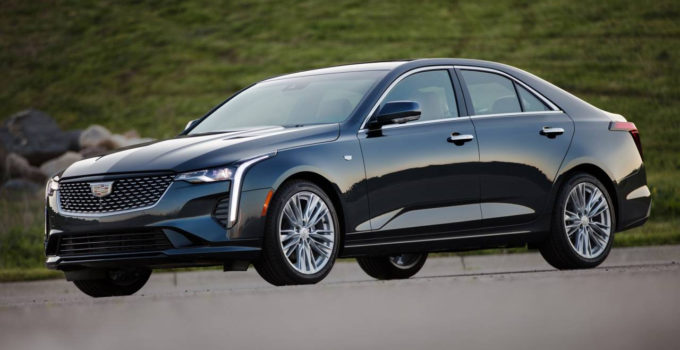 2020 Cadillac CT4 Gallery SlashGear