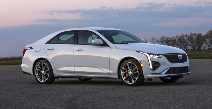 2020 Cadillac CT4 Revealed In Normal Trims Autoblog