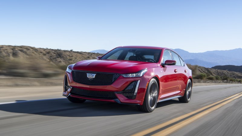 2021 Cadillac CT5 V Option Packages Mean Big Price Jumps