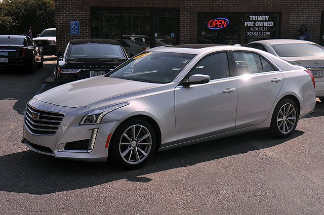 2018 Used Cadillac CTS Sedan 4dr Sedan 2 0L Turbo Luxury