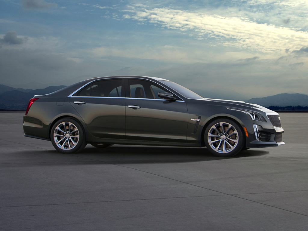 New 2018 Cadillac CTS V Price Photos Reviews Safety