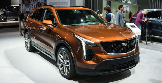 2020 Cadillac XT5 Adds Four Cylinder Engine Sport Trim