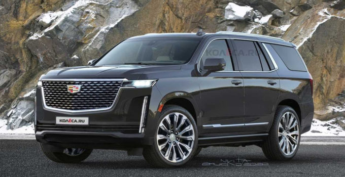 Cadillac Escalade 2021 ALL New Powerful Luxury SUV YouTube