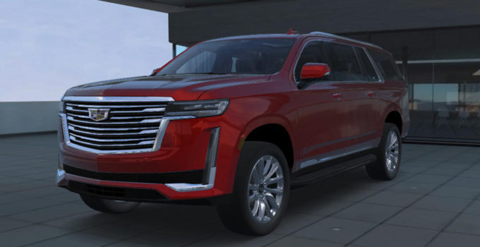 This Is What The 2021 Cadillac Escalade ESV Will Look Like