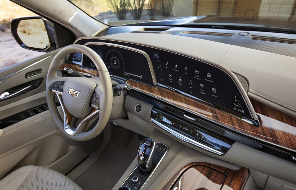Cadillac Vehicles To Get Large OLED Screen GM Authority
