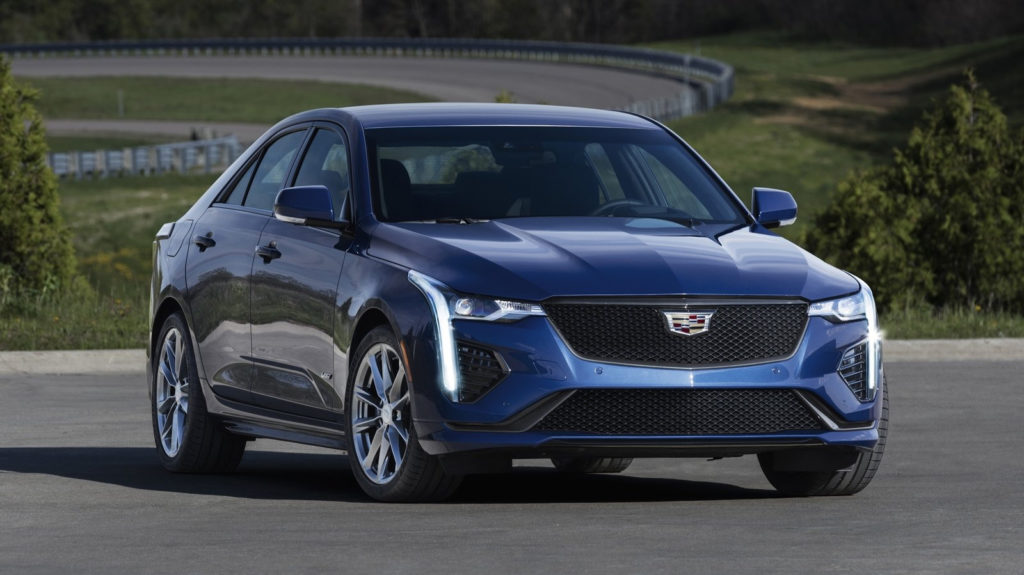 2020 Cadillac CT4 V Top Speed