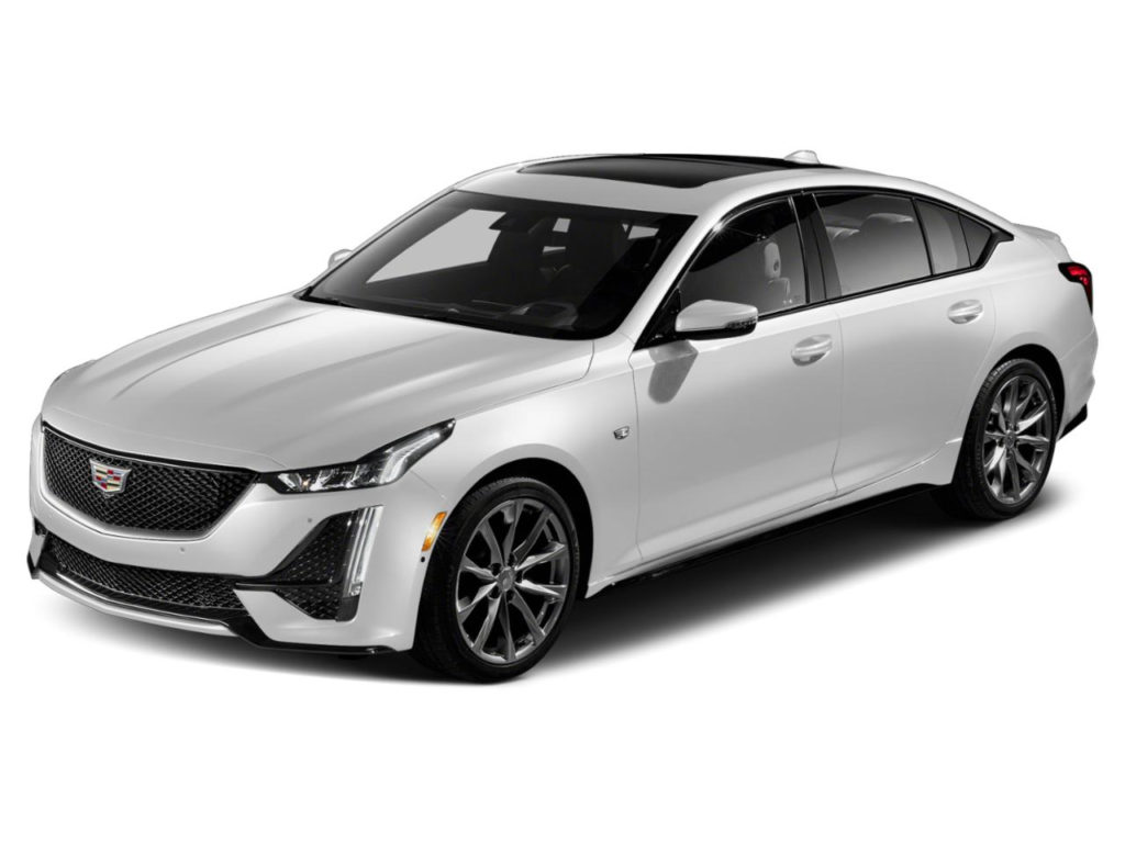 New 2020 Cadillac CT5 4dr Sdn V Series In Summit White For