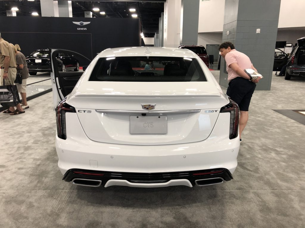 2020 Cadillac CT5 In Summit White Live Photo Gallery