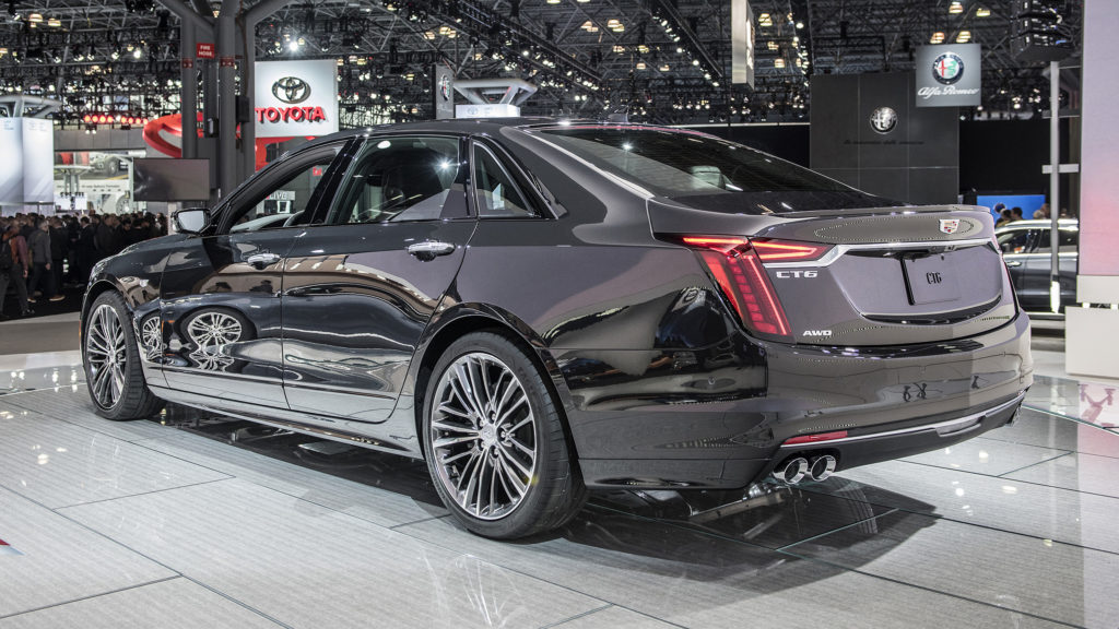Cadillac Launches CT6 V Sport With Hot 550 horsepower Twin