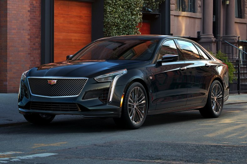 2020 Cadillac CT6 V 4 2L Blackwing Twin Turbo 4dr All