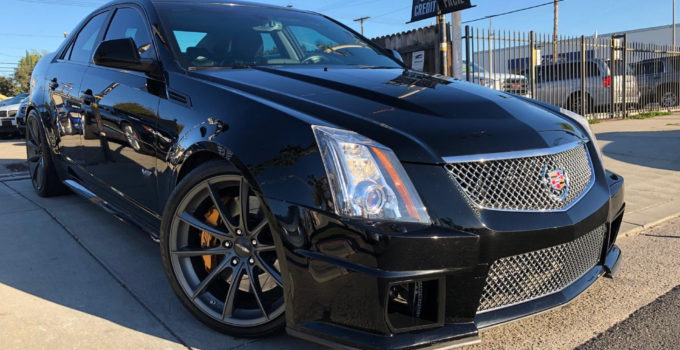 Used 2009 Cadillac CTS V For Sale 29 995 Loyal