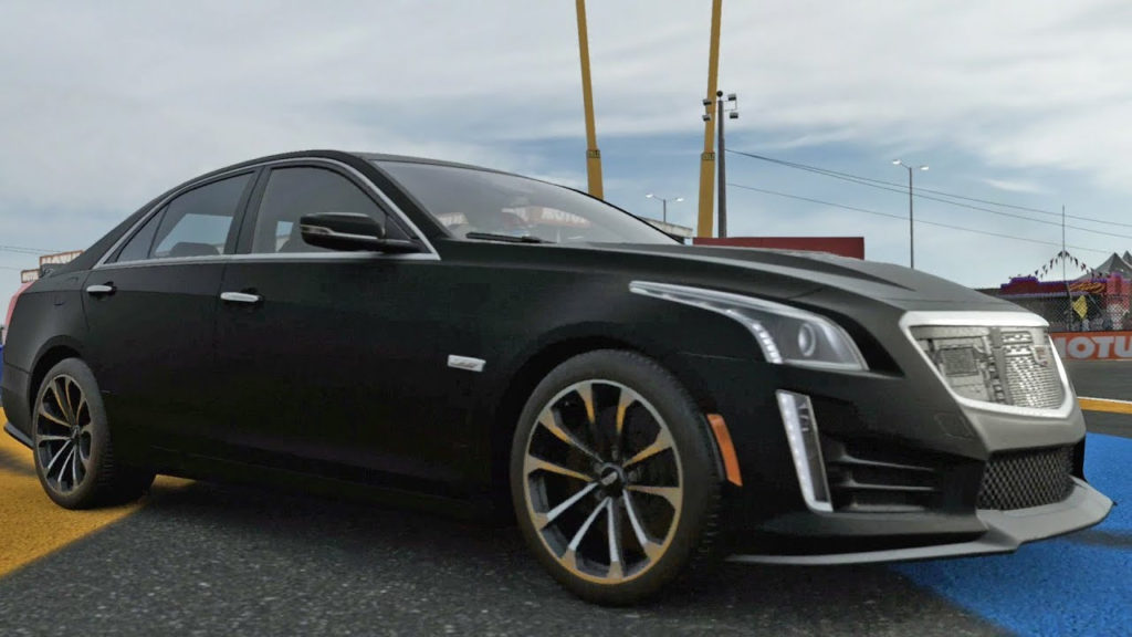 Forza Motorsport 7 Cadillac CTS V Sedan 2016 Test