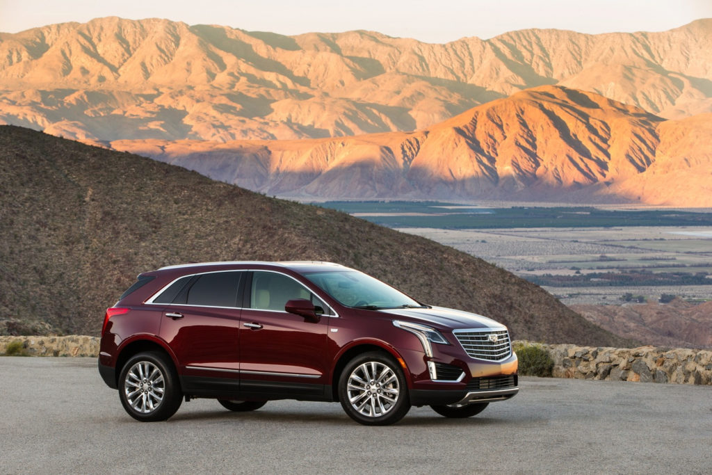 Cadillac XT4 Vs Cadillac XT5 Dimensional Comparison