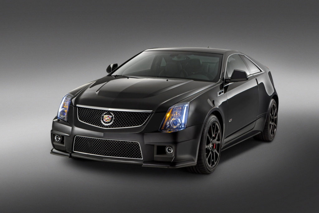 2015 Cadillac CTS V Coupe Top Speed