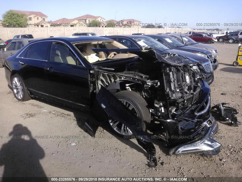 2017 Cadillac Ct6 Front End Damage 1G6KN5R67HU202758