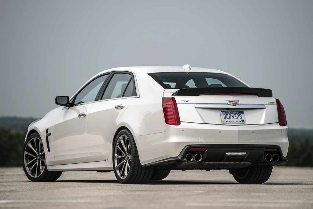 2016 Cadillac CTS V First Drive w video Autoblog