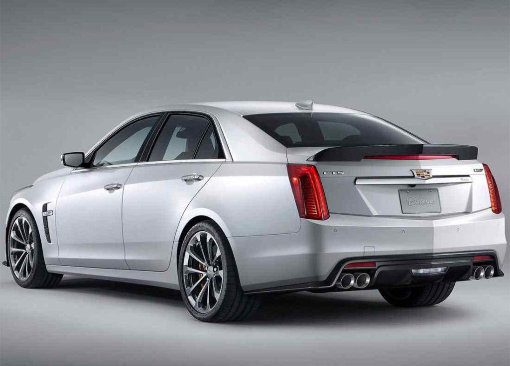 Sedan 2018 2019 Cadillac CTS V A Powerful Fast