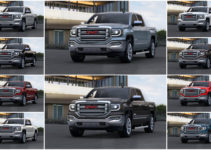 2016 GMC Sierra 1500 Color Options