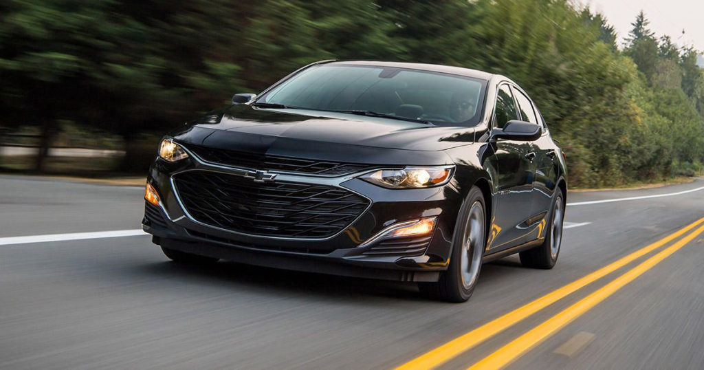 2019 Chevy Malibu First Drive Review No Better No Worse
