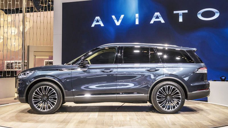 2020 Lincoln Aviator White 2003 With Rims 2004