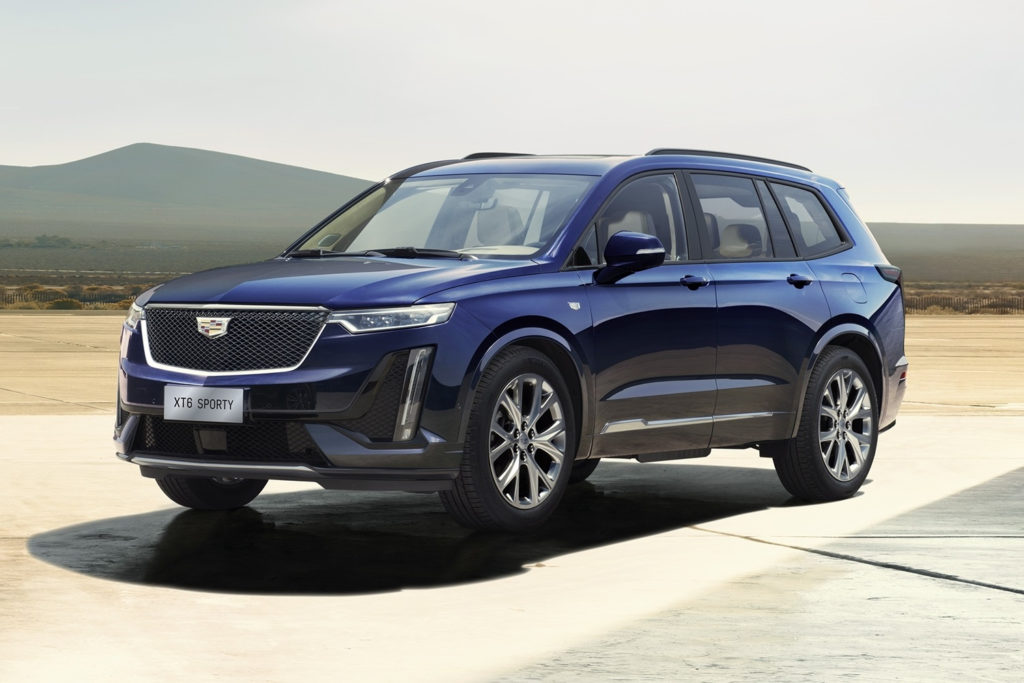 Here Are The 2020 Cadillac XT6 Exterior Colors