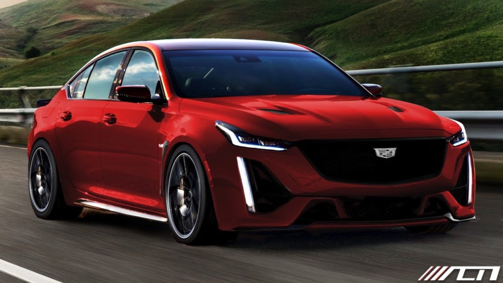 UPDATE 2021 Cadillac CT5 V BLACKWING Coming With A V8 And