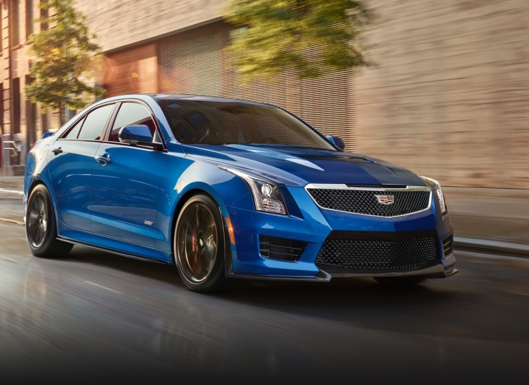 Luxurious 2018 Cadillac ATS V Coupe With Twin Turbo V6