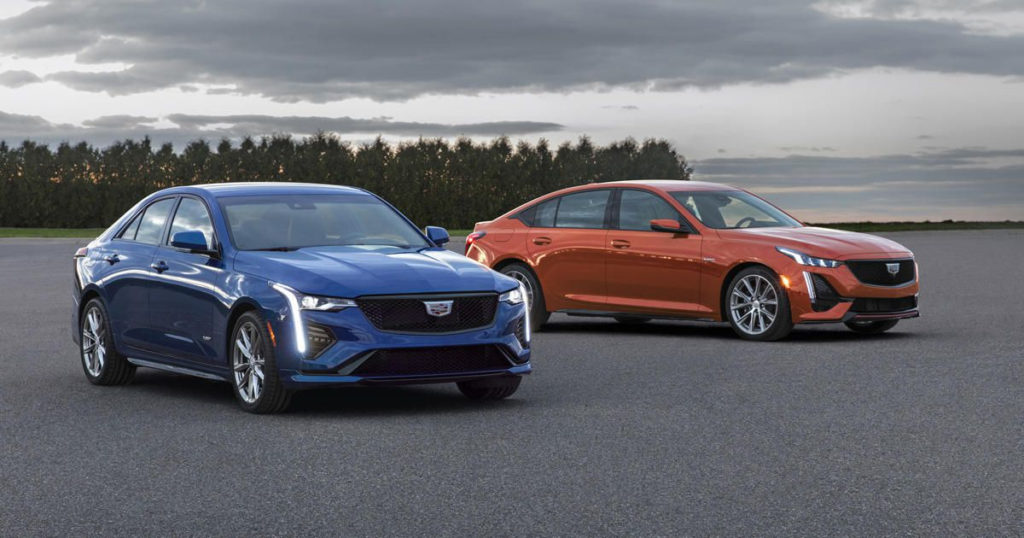 2020 Cadillac CT4 V And CT5 V Get Uncovered In Detroit
