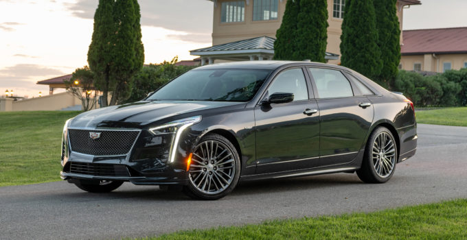 2020 Cadillac CT6 V First Drive Review What s New Specs