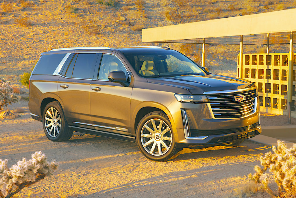 2021 cadillac escalade gold The Fast Lane Truck