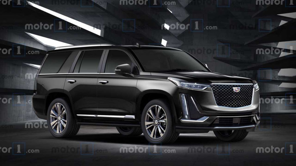 Cadillac Escalade Rendering Shows Next Gen s New Lines