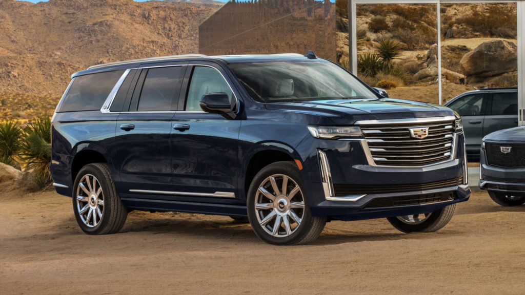 2021 Cadillac Escalade ESV First Look The New Long One
