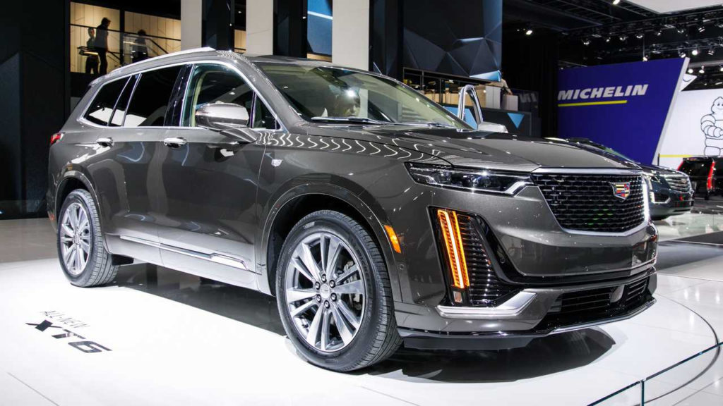 2020 Cadillac XT6 Live From The Detroit Auto Show