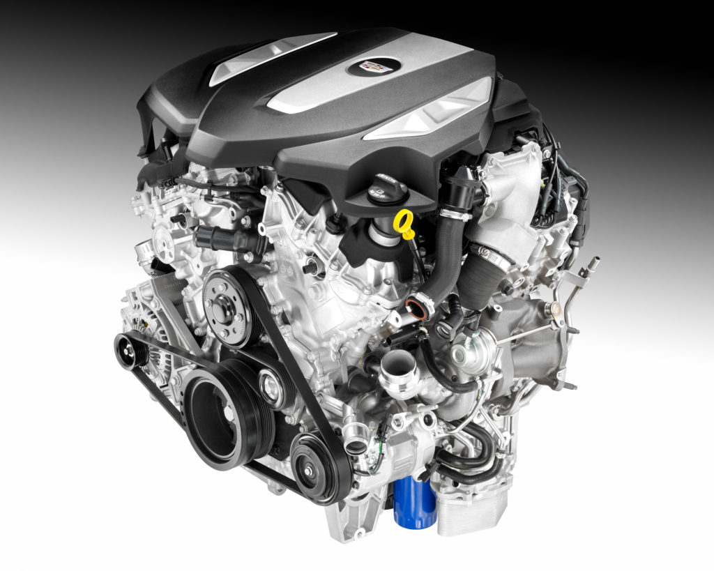 Cadillac Details CT6 V6 Engines