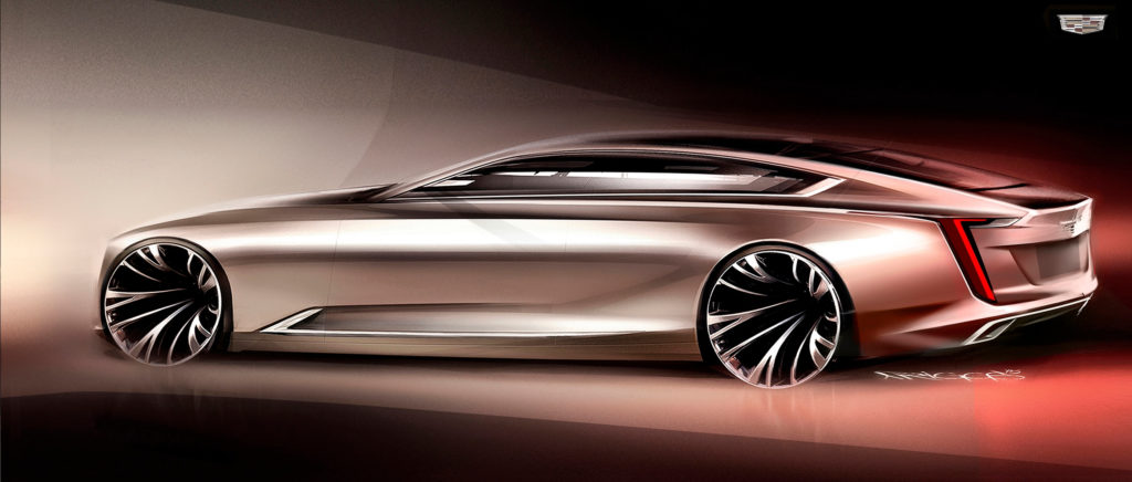 Cadillac s Twin Turbo V8 Escala Concept Is The Land Yacht