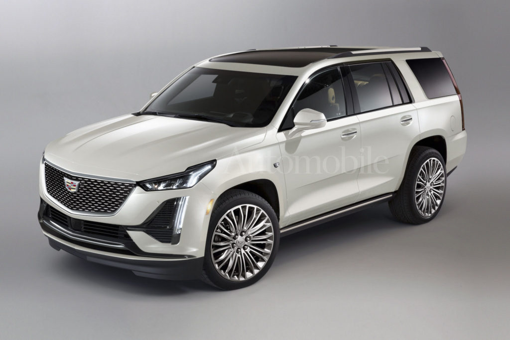 Hey Look It s The 2021 Cadillac Escalade Maybe