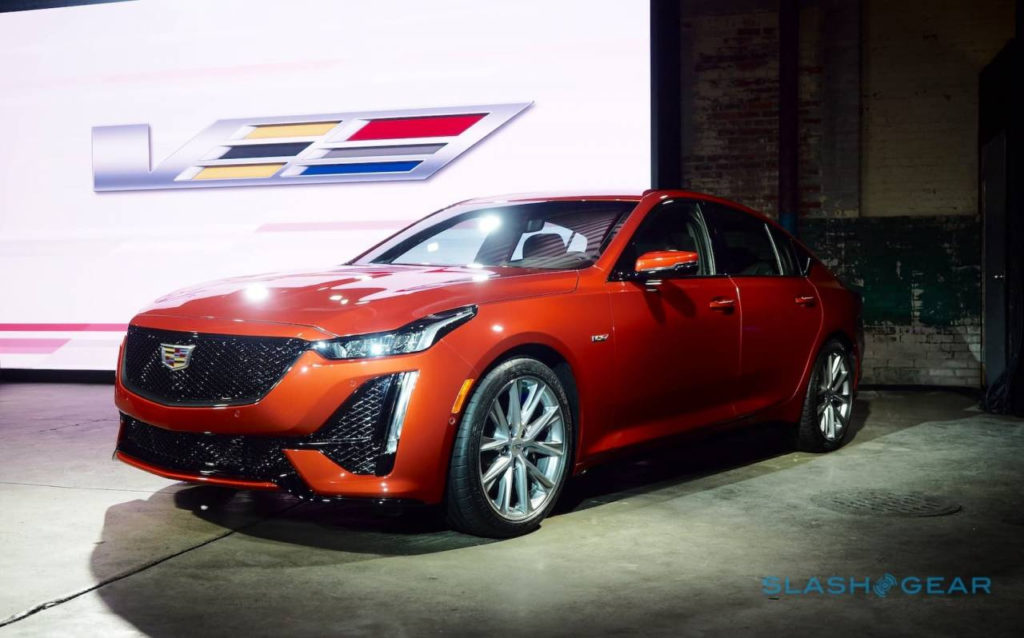 2020 Cadillac Ct4 V And Ct5 V Pair Sports Sedans With