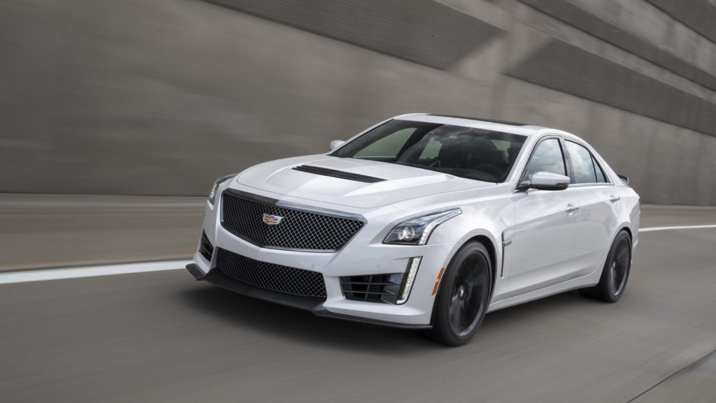 2017 Cadillac CTS V With Carbon Black Sport Package