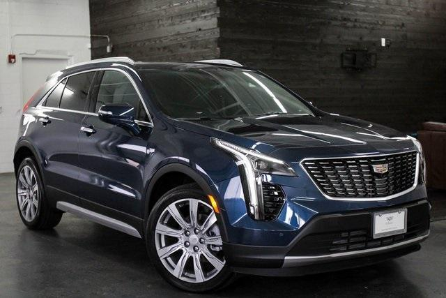 New 2020 Cadillac XT4 Twilight Blue Metallic Seattle
