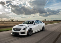 Hennessey s 1 000 horsepower Cadillac CTS V Hits The Track